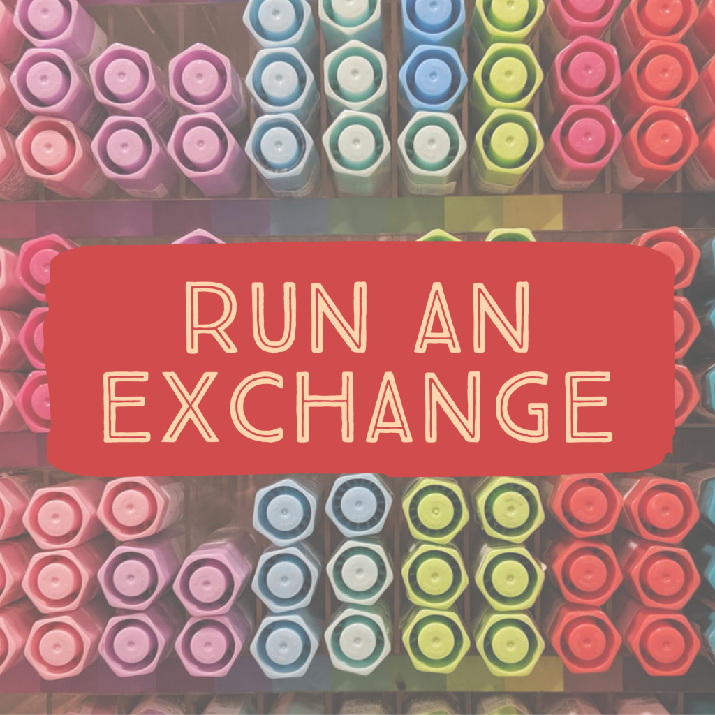 Run an exchange